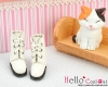 【04-02】B/P Short Shoes.White