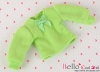 308.【NI-S15】Blythe Pullip(Puffed Sleeves)T-Shirt # Apple Green