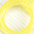 【A10】II.Blythe Pull Ring.Jelly(Round)# Yellow
