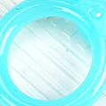 【A13】II.Blythe Pull Ring.Jelly(Round)# Blue