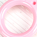 【A3】II.Blythe Pull Ring(Round)# Pink