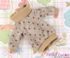 316.【NI-56】Blythe Pullip Lovely Clothes # Point /Brown