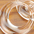 【B1】II.Blythe Pull Ring(Round/Thick)# Clear