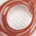 【B8】II.Blythe Pull Ring.Jelly(Round/Thick)# Cocoa