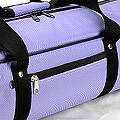 IV.70Cm Soft Nylon Carrier Bag(White Inside)# Violet