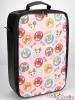 【Bag-03】Rectangular Carrier Bag(Cats & Fish)# Pink