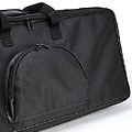Couple Nylon Carrier Bag For 65cm # Black