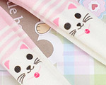 【BP-T01】Blythe Printing Pantyhose # Cats/Pink