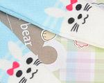 【BP-T15】Blythe Printing Pantyhose(Rabbit) # Blue