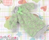 328.【NK-25】Blythe Pullip(Puffed Sleeves)Clothes # Apple Green Dot