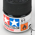 10ml Tamiya Acrylic Paint X-1 Black