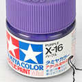 10ml Tamiya Acrylic Paint X-16 Purple