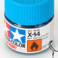 10ml Tamiya Acrylic Paint X-14 Sky Blue