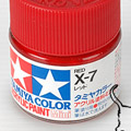 10ml Tamiya Acrylic Paint X-7 Red
