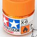 10ml Tamiya Acrylic Paint X-6 Orange