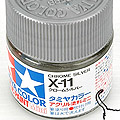 10ml Tamiya Acrylic Paint X-11 Chrome Silver