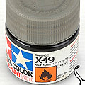 10ml Tamiya Acrylic Paint X-19 Smoke