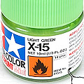 10ml Tamiya Acrylic Paint X-15 Light Green