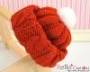 【CP-15】B/P Doll Beanie(Sweater)# Tangerine