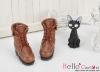 【06-04】B/P Short Shoes.Brown