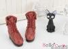 【06-07】B/P Short Shoes.Crimson