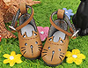 【11-01】B/P Cute Cats Mini Shoes # Pale Brown