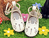 【11-04】B/P Cute Cats Mini Shoes # White