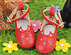 【11-08】B/P Cute Cats Mini Shoes # Red