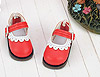 【08-07】B/P Mini Shoes # Red