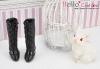【07-02】B/P High-Heeled Boots.Black