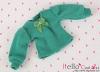299.【NI-S06】Blythe Pullip(Puffed Sleeves)T-Shirt # Sea Green