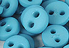 Y77.【DIY-B22】4mm Plastic 2 Holes Tiny Button(Round)30pcs # Steel Blue
