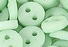 Y94.【DIY-B39】4mm Plastic 2 Holes Tiny Button(Round)30pcs # Pale Sea Green