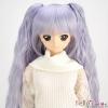 【DM-18】DD/MDD HP wigs w/Wave Hair Pin # Purple