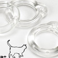 A31.【PU-29】Blythe Pull Ring.Clear