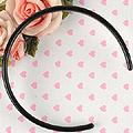 【HB-02】Blythe Simple Hair Band (Sharp End) # Black