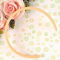 【HB-03】Pullip Simple Hair Band (Sharp End) # Sweet Peach