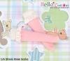 【KS-C02/KS-S06N】(B/P) Lace Top Below Knee Socks # Pink