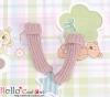 【KR-17】B/P Bobby Socks # Radiant Lilac
