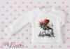 i06.【PR-06】B/P Printing Long Sleeve Tee(Fallen Angels)# White