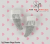 【KS-A06/KS-S25】(B/P) Lace Top Ankle Socks # Grey