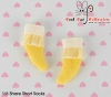 【KS-A09/KS-S34】(B/P) Lace Top Ankle Socks # Yellow