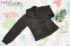 420.【L2】Blythe/Pullip Long Sleeves Blouse/Shirt # Black