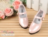 【LS-02】Leather High-Heeled Shoes(SD/DD)# Shiny Pale Pink