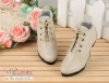 【LS-03】Leather High-Heeled Shoes(SD/DD)# Pale Grey