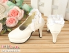 【LS-12】Leather High-Heeled Shoes(SD/DD)# Off White