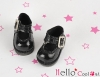 【01-03】B/P Mini Shoes # Shiny Black