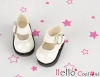 【01-04】B/P Mini Shoes # Shiny White
