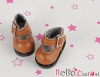 【01-05】B/P Mini Shoes # Brown