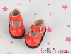 【01-07】B/P Mini Shoes # Red
